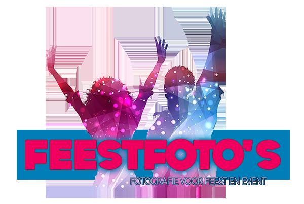 FeestFoto's.com – Fotografie voor Feest-Evenement-Concert-Verjaardag Logo